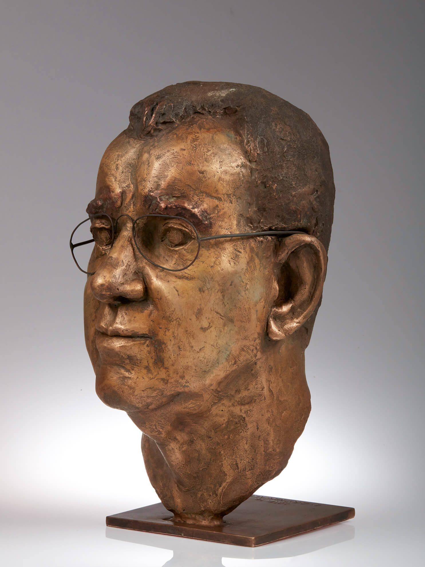 Hr. Huber, 2016, Bronze