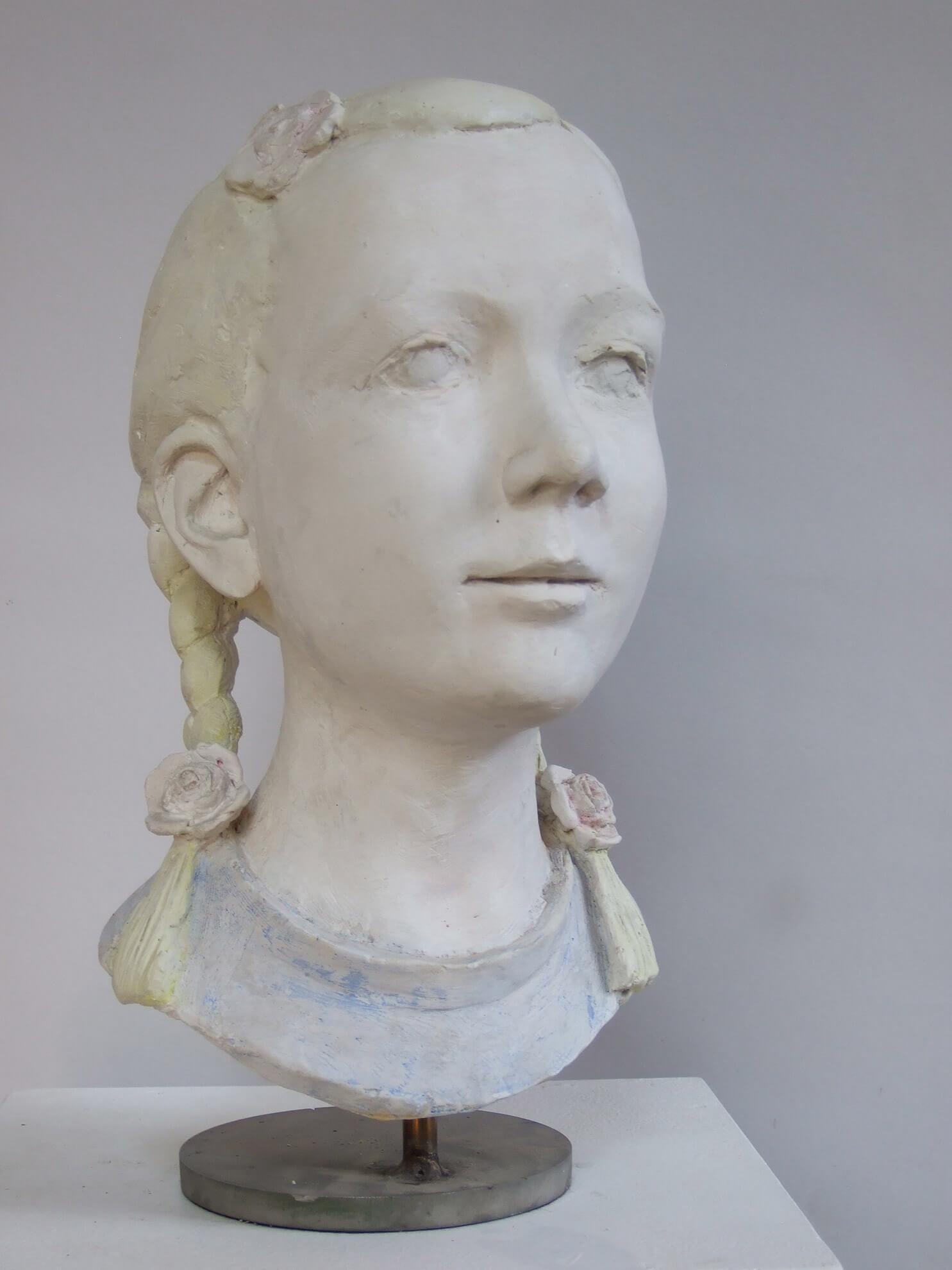 M. v. Boetticher, 2004, Gips koloriert