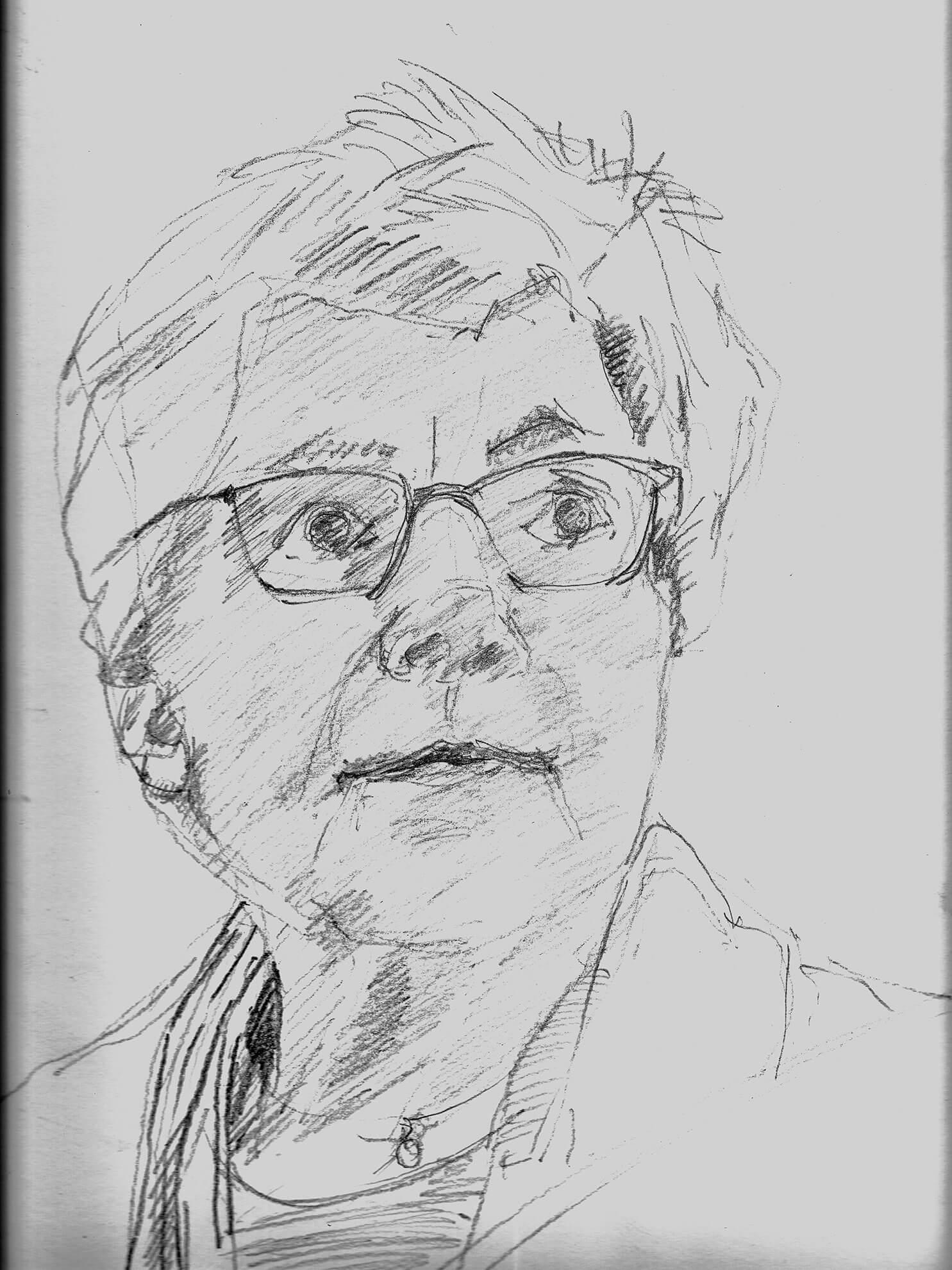 Lucie, 2019, Zeichnung