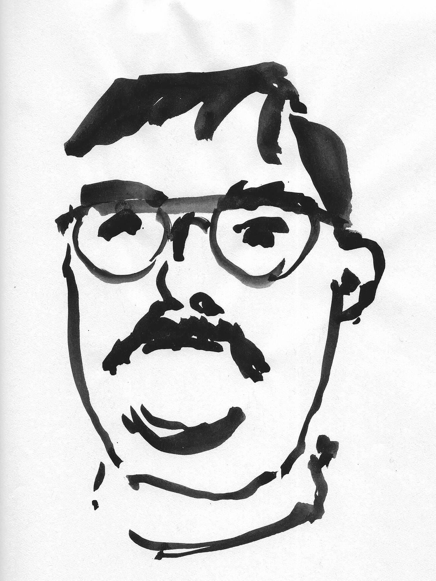 Phillipe, 2001, Zeichnung