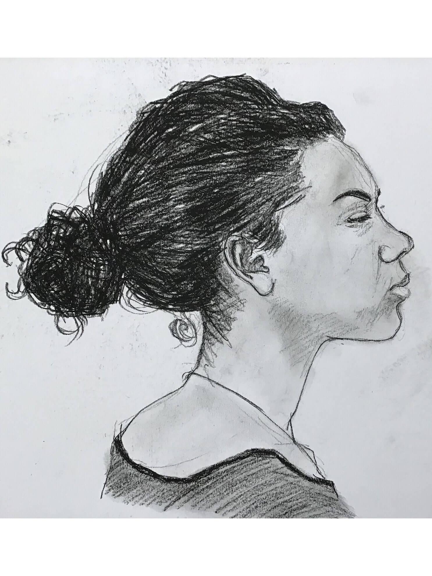 Tabea, 2015, Zeichnung
