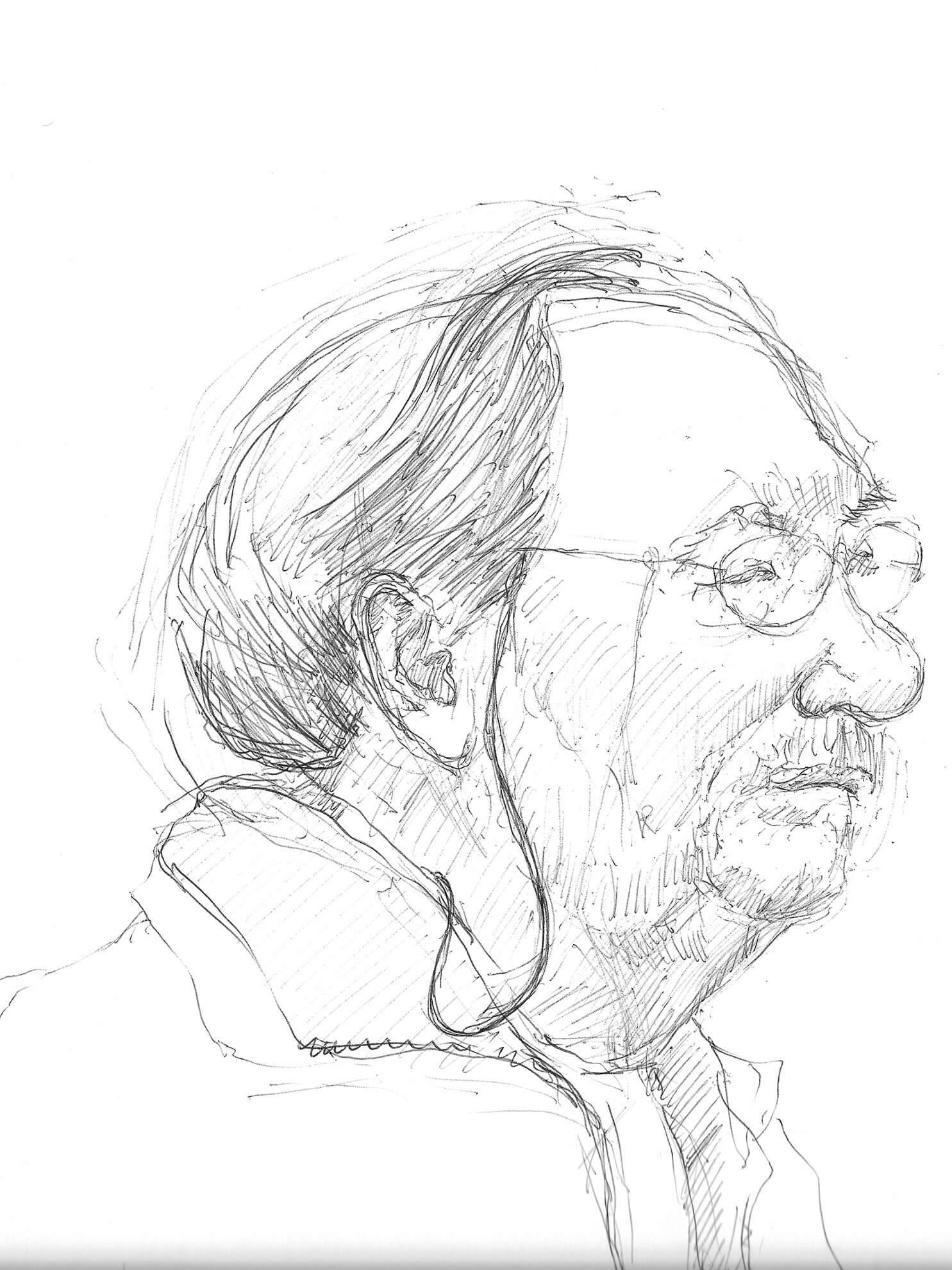 Wolfram Weiße, 2015, Zeichnung