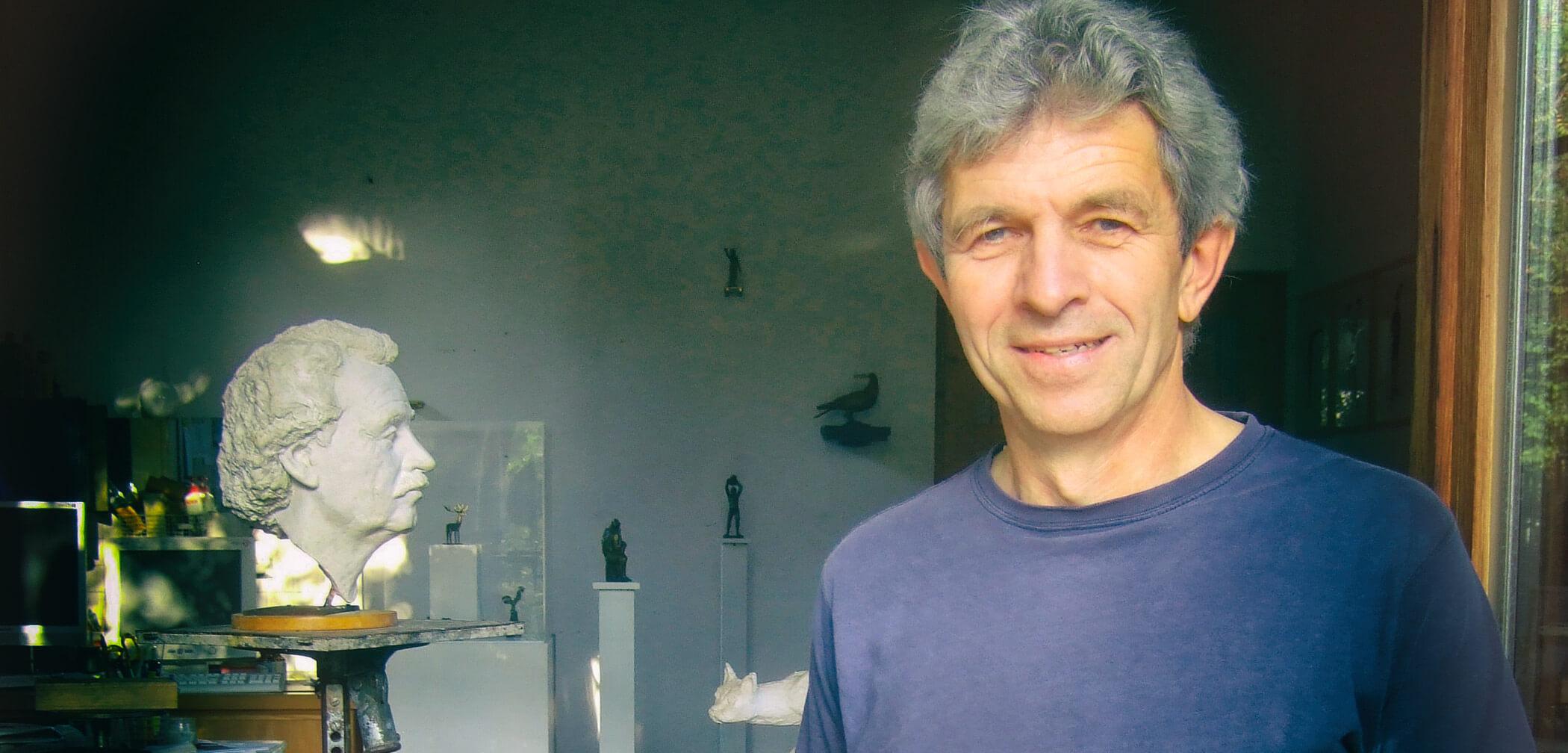Ernst Grünwald, Atelier 2014